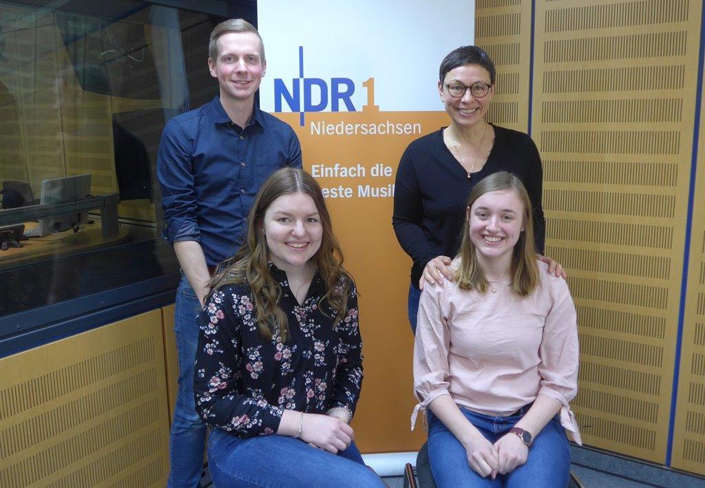 Live Auf Sendung Hollner Halbstarke Zu Gast Bei Der Ndr